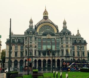 Antwerpen Centraal Train Station, Belgium